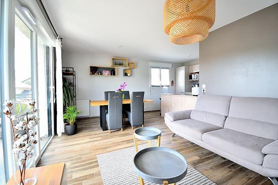 Appartement T3 avec balcon, cave, garage et place de parking - photo 2