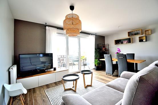 Appartement T3 avec balcon, cave, garage et place de parking - photo 1