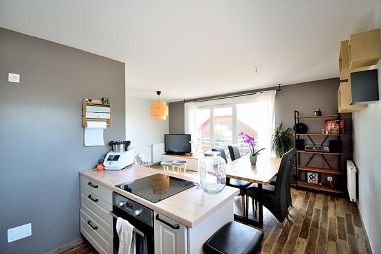 Appartement T3 avec balcon, cave, garage et place de parking - photo 4