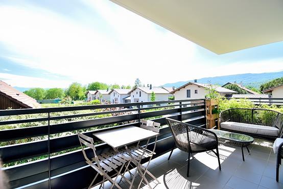 Appartement T3 avec balcon, cave, garage et place de parking - photo 5