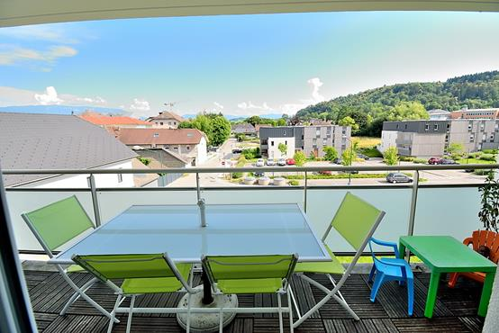 Appartement T3 avec balcon, garage, place de parking et cave - photo 3