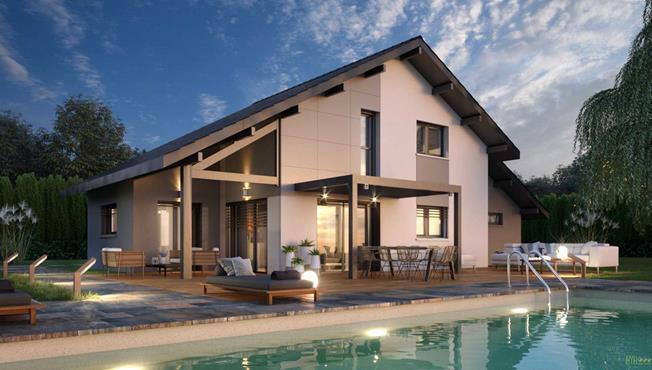 Maison Rumilly 100 m² - photo 1
