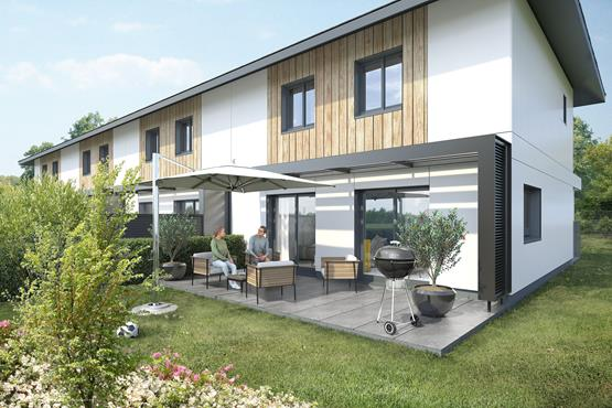 Maison Mitoyenne VALLIERES  89 m² - photo 1