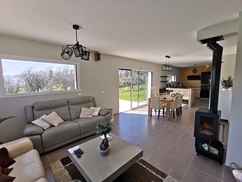 Maison 145m² à Marcellaz-Albanais récente - photo 2