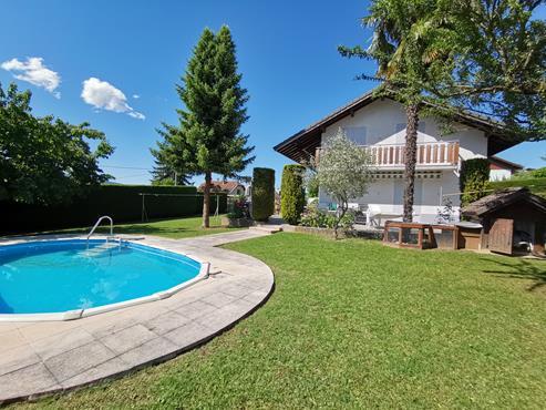 Maison à SALES sur 1000 m² de terrain avec piscine - photo 1
