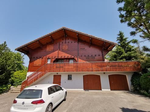CHALET en madrier de 266 m² avec terrain de 1900 m² à CHALLONGES - photo 2