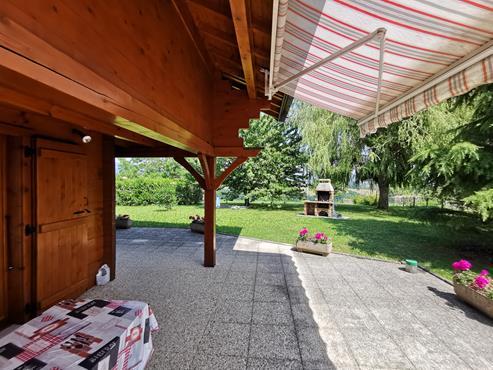 CHALET en madrier de 266 m² avec terrain de 1900 m² à CHALLONGES - photo 3