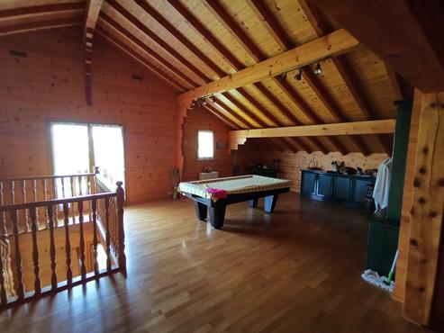 CHALET en madrier de 266 m² avec terrain de 1900 m² à CHALLONGES - photo 8